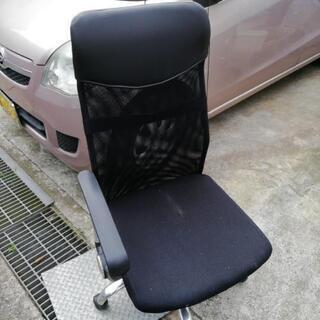 ¥500 回転椅子 中古品 擦れ有ります❗