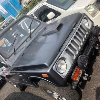 JA11V改 スズキ ジムニー ターボ 4WD apioコンプ車