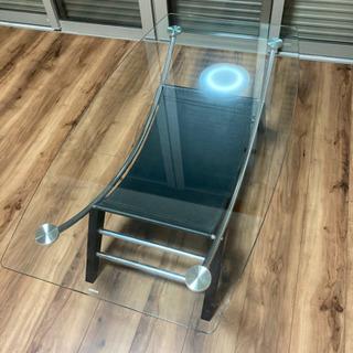 【ファニチャードーム】ガラステーブル