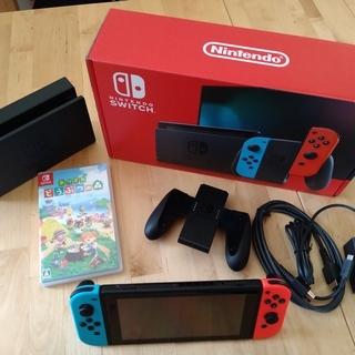 [新品同様] Nintendo Switch & あつまれ動物の森