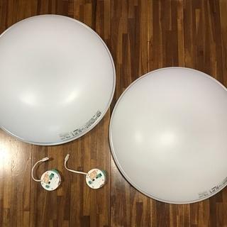 蛍光灯シーリングライト(2セット)