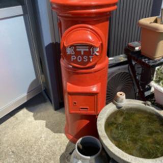 郵便ポスト レトロ 丸型ポスト アンティーク  お買い得 レア