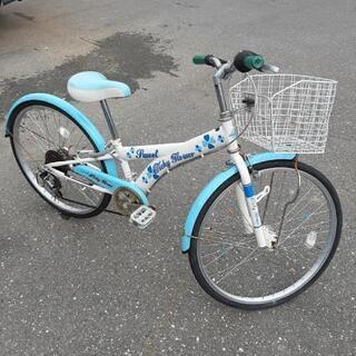 子供用24インチ自転車変速付