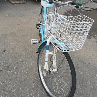 子供用24インチ自転車変速付 - 売ります・あげます
