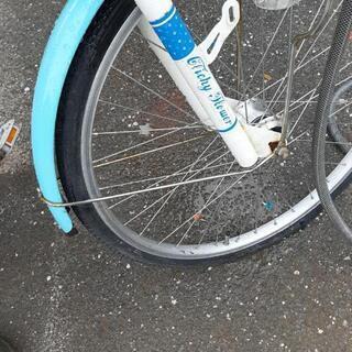 子供用24インチ自転車変速付 − 高知県