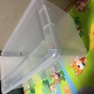 【無料】透明ボックスあげます!