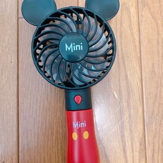 ミッキー 扇風機 小型扇風機 携帯扇風機 ハンディ ディズニー