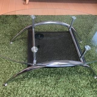 ニトリ ガラスセンターテーブル