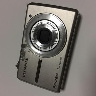 OLYMPUS FE-220 コンセント給電OK!