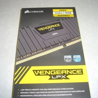 CORSAIR DDR4-3200Mhz 2x8GB