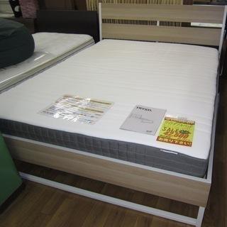 R220 IKEA TRYSIL ワイドダブルベッド マットレス...