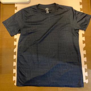 錦織選手着用デザイン色違い Tシャツ 紺色 XL