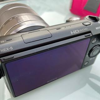 Sony NEX-5D ミラーレス一眼 ソニーEマウント 標準ズ...