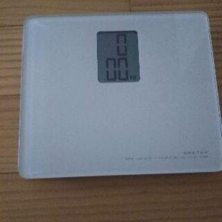 ドリテック デジタル体重計
