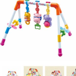 赤ちゃん おもちゃ かわいい ベビージム メロディファンファンジム