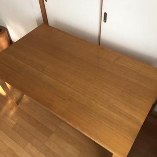 無印良品 タモ材ダイニングテーブル