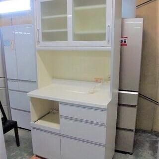 R1719) パモウナ キッチンボード 2011年製! 食器棚 ...