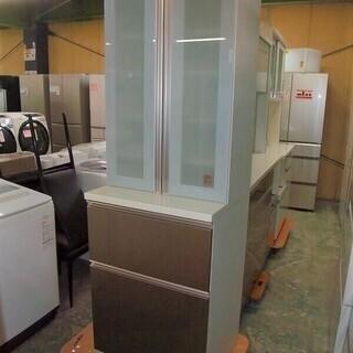 R1722) 高橋木工所 キッチンボード ラピス60 食器棚 店...