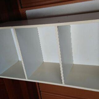 白  三段ボックス