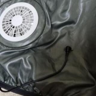 空調服ファンバッテリーー付き新品未使用フルセット