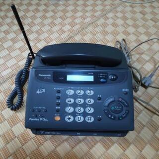 電話機中古品 fax多少の不具合あり