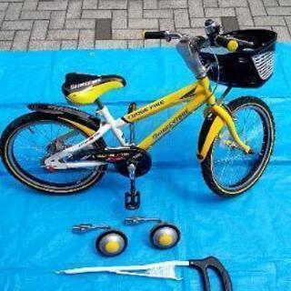 ブリヂストン キッズジュニア自転車 18インチ