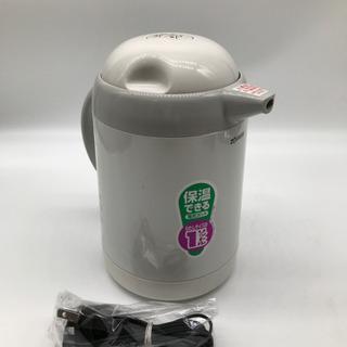 象印 保温できる電気ポット1リットル ホワイト