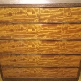 タンス 木製 5段 中サイズ