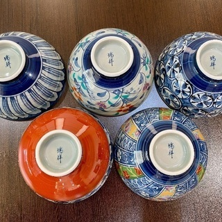 〇 Summer SALE  肥前陶磁器 茶碗5客set‼ 〇