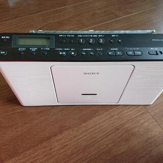 ジャンク品 ソニーCDラジオ