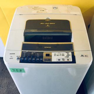 ‼️大容量‼️758番 HITACHI✨日立全自動電気洗濯機✨B...