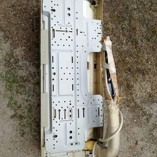 ナショナルの壊れたエアコン1台と室外機1台のセット - 家電