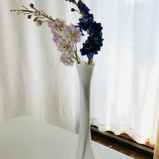 薄張りガラスの繊細な花瓶 美品