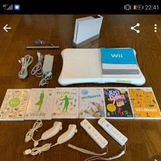 Wii本体、ソフトセット
