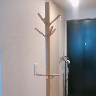 ポールハンガー 木製