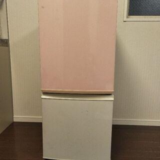(取引終了)冷凍冷蔵庫差し上げます(SJ-14K)