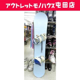 スノーボード 135cm バインディング 2点セット ☆ …