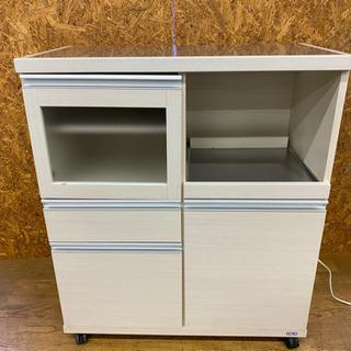 0808-11  キッチンボード スチールトップ 収納棚