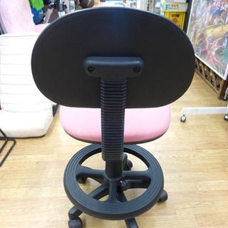 学習チェア 学習椅子 イス 回転チェア ピンク キャスター付き 札幌市 清田区 平岡 - 売ります・あげます