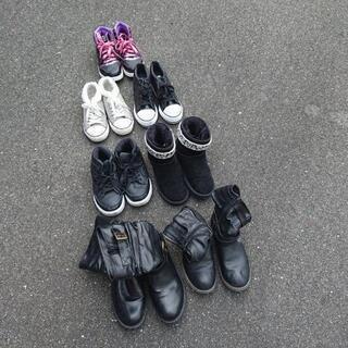 子供用靴7足の画像