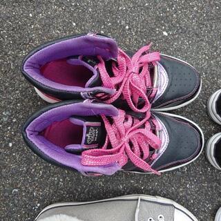 子供用靴7足 - 靴/バッグ