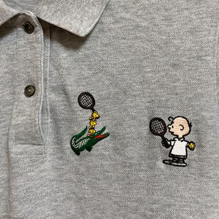 ラコステ ×スヌーピー のコラボ  ポロシャツ