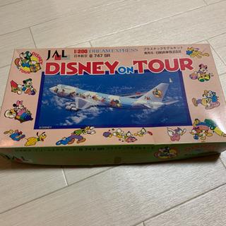 希少 JAL Disney on tour プラモデル