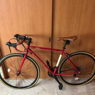 ロードバイク 赤