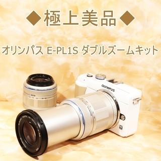 ◆極上美品◆オリンパス E-PL1S ダブルズームキット