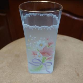 花柄グラス 5点セット