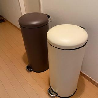 【新品未使用】30L丸型ペール×2(ゴミ箱)