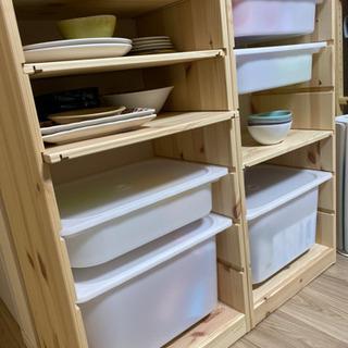 2組セット!使い方自由 IKEAウッドラック - 売ります・あげます
