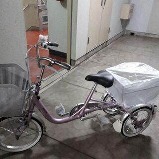 ブリヂストン大人用三輪車 ブリヂストンワゴンBW13 ブランピンク