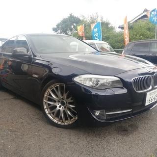BMW 5シリーズ 528i  レイズ鍛造アルミホイール バック...
